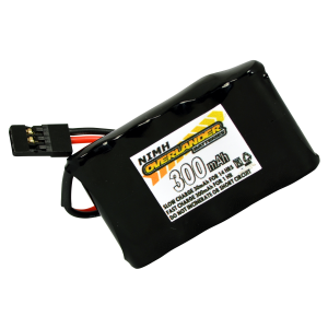 Nimh Battery 2/3 AAA Pack 300mah 6v Receiver Flat Premium Sport