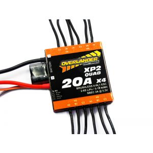 Overlander XP2 QUAD 20A Brushless ESC for Quadcopters