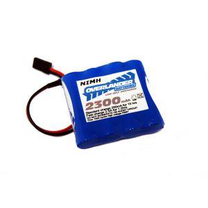 Nimh Battery Pack LSD AA 2300mah 4.8v Receiver Flat Premium Sport