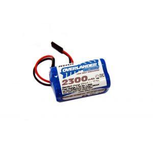 Nimh Battery Pack LSD AA 2300mah 4.8v Receiver Square Premium Sport