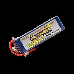 3350mAh 6S 22.2v 30C LiPo Battery - Overlander Supersport