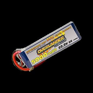 5000mAh 22.2V 6S 35C Supersport Pro LiPo Battery