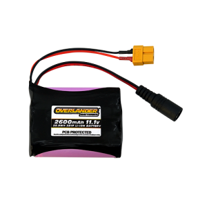 2600mAh 3S 11.1v Li-Ion Rechargeable Battery with PCB