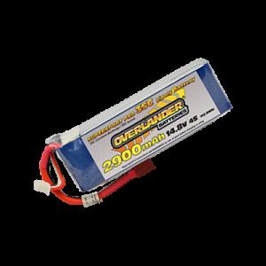 2900mAh 14.8V 4S 35C Supersport Pro LiPo Battery
