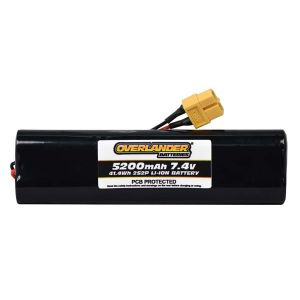 5200mAh 2S2P 7.4v Li-Ion Rechargeable Battery with PCB Config 9
