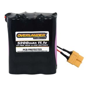 5200mAh 3S2P 11.1v Li-Ion Rechargeable Battery with PCB Config 16