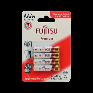 Fujitsu AAA Alkaline Blister Pack Premium Series