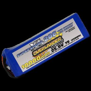 10000mAh 7S 25.9v 20C Lipo Battery - Overlander SupersportXL