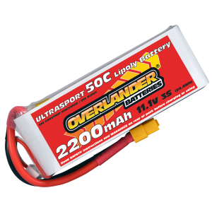 2200mAh 11.1V 3S 50C Ultrasport LiPo Battery