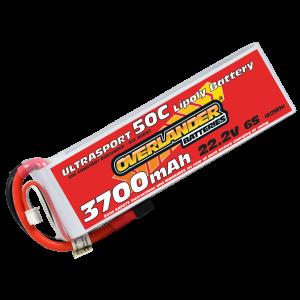 3700mAh 6S 22.2v 50C LiPo Battery - Overlander Ultrasport