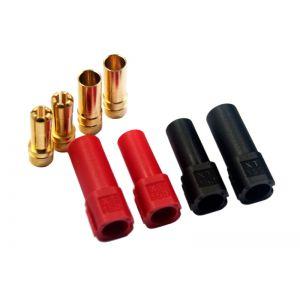 XT150 - connectors pair ( Red + Black )