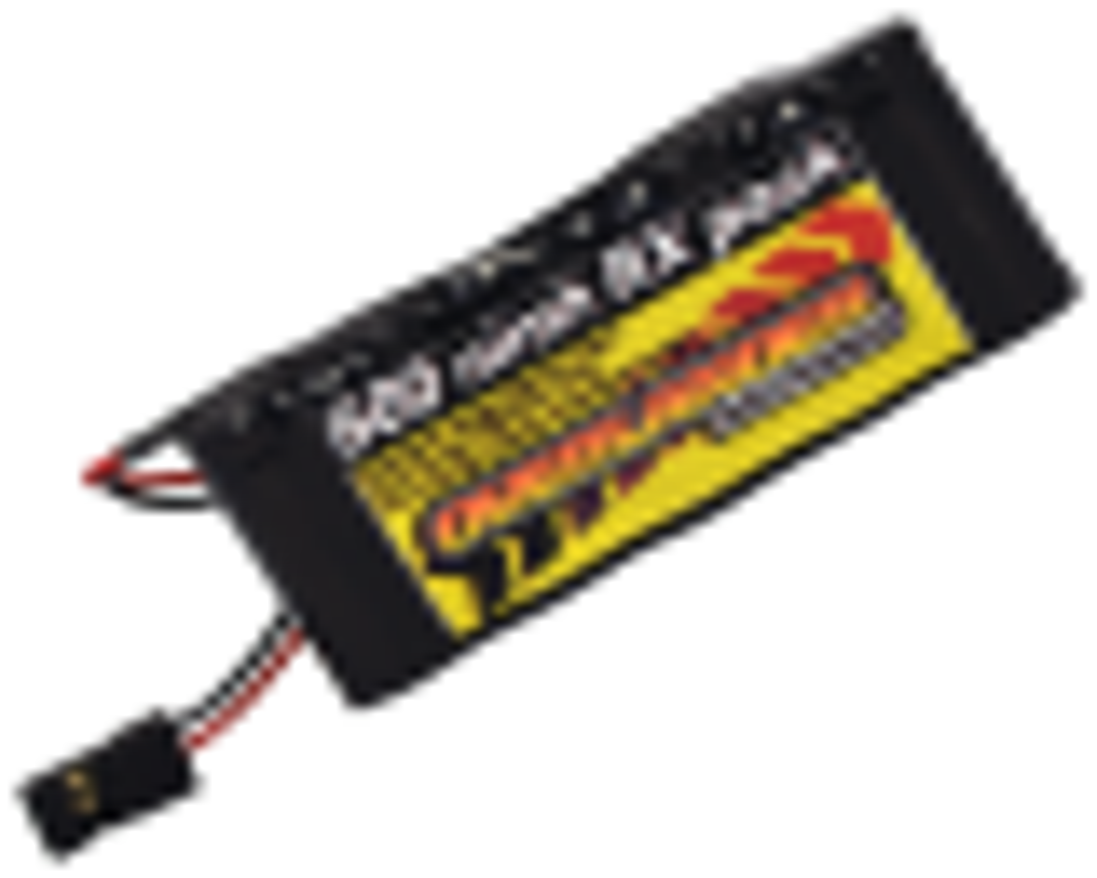 Nimh Battery Pack 2/3 AA 600mah 6v Receiver Flat Premium Sport
