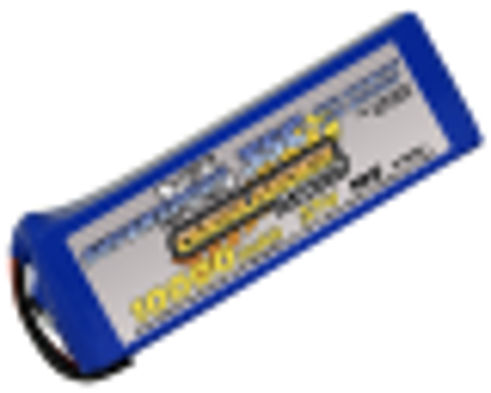 10000mAh 37V 10S 20C Supersport XL LiPo Battery